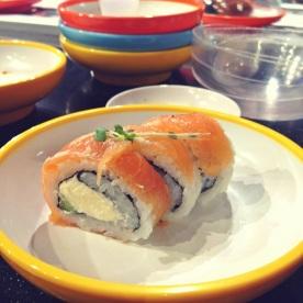 1. Dîner chez Yo Sushi